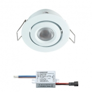CREELUX LED INBOUWSPOT WIT WARMWIT 3W DIMBAAR
