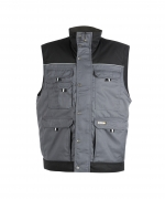 DASSY BODYWARMER HULST GREY/BLACK XL