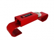 DoubleLock CONTAINER LOCK JUN.RED 080-150